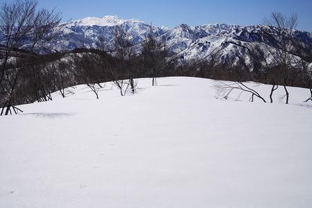 高倉山から白山