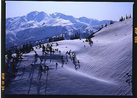 奥三方岳から白山