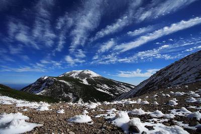 四ツ塚山から大汝峰