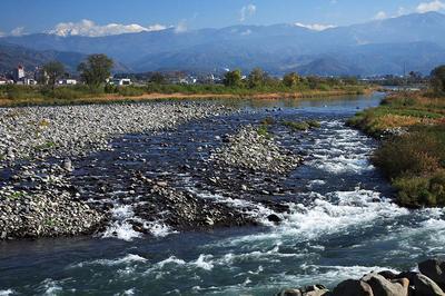 九頭竜川と白山