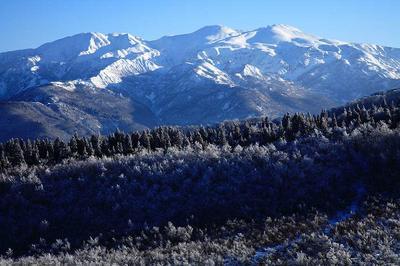 取立山から白山