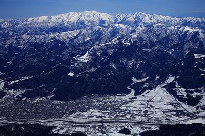 勝山市と白山
