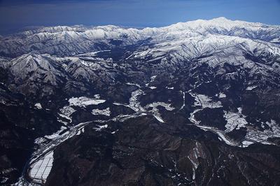 長良川源流部と白山