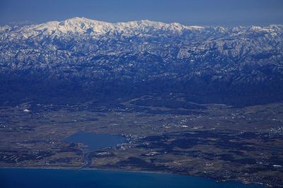 柴山潟と白山