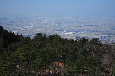 加賀平野と手取川