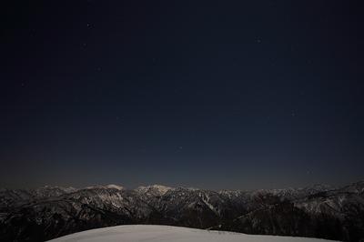 笈ケ岳夜景