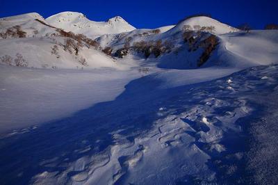 転法輪谷から白山