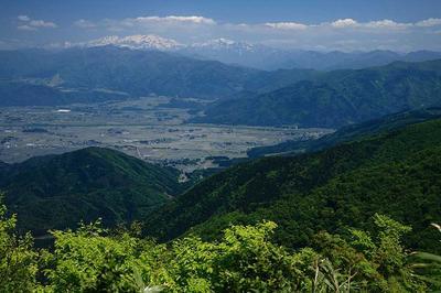 前山から白山