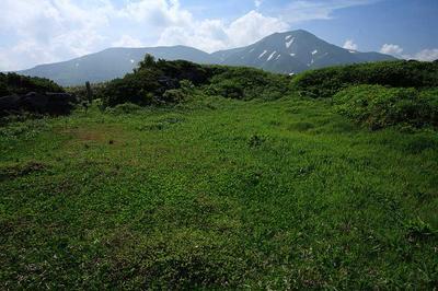 加賀室跡から七倉山