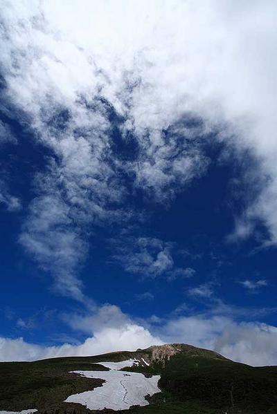 弥陀ヶ原から御前峰