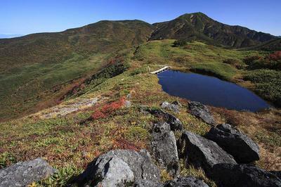 天池から四ツ塚山