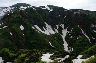 白山釈迦岳付近から白山