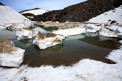 白山山頂の紺屋ヶ池