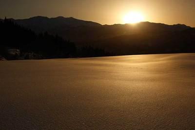 西山から見た日の出