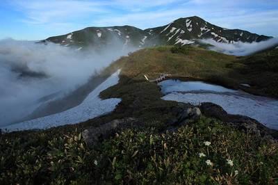 天池と四ツ塚山