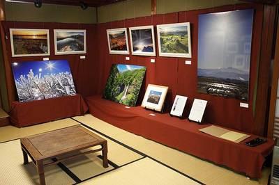 山の文化館展示状況