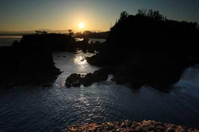 松島からの日の出