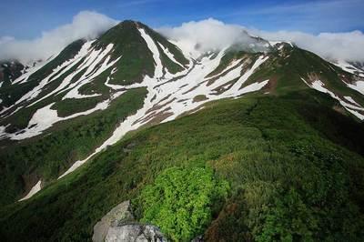 <br /> 中宮道から見た剣ヶ峰